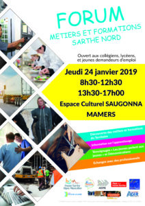 AFFICHE FORUM METIERS FORMATIONS