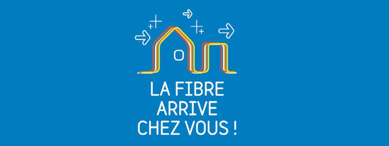 La fibre arrive chez vous