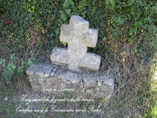 croix lorraine bethon
